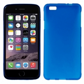 Capa Silicone Cool iPhone 6 Plus / 6s Plus (Azul)