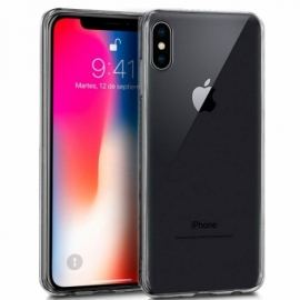 Capa Silicone Cool iPhone X / iPhone XS (Transparente)