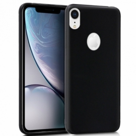 Capa Silicone Cool iPhone XR (Preto)