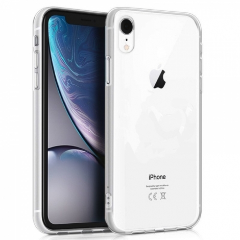 Capa Silicone Cool iPhone XR (Transparente)