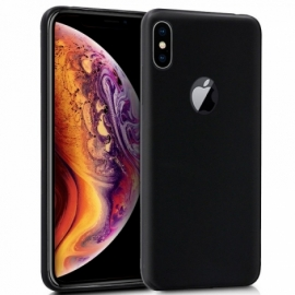 Capa Silicone Cool iPhone XS Max (Preto)