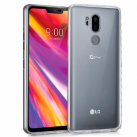 Capa Silicone Cool LG G7 ThinQ (Transparente)