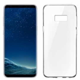 Capa Silicone Cool Samsung G955 Galaxy S8 Plus (Transparente)