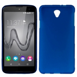 Capa Silicone Cool Wiko Robby (Azul)