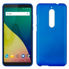 Capa Silicone Cool Wiko View XL (Azul)