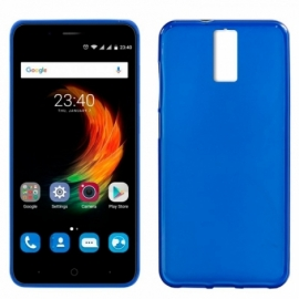 Capa Silicone Cool ZTE Blade A610 Plus (Azul)
