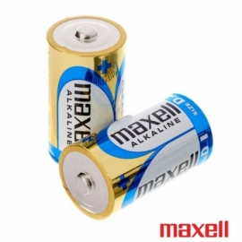Pilha LR20 Maxell (Pack 2 Uds)