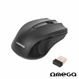 Rato Laser Omega Wireless Preto