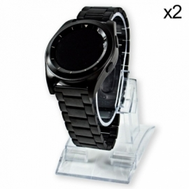 Suporte de Smartwatch Escaparate Transparente (Pack 2 uds)
