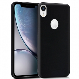 Capa de Gel Forcell Soft Para Apple iPhone XR - Preto