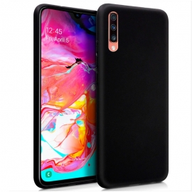 Capa de Gel Forcell Soft Para Samsung Galaxy A70 - Preto