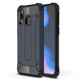 Capa Anti Choque Survival Para Samsung Galaxy A40 - Azul Navy
