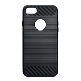 Capa Anti Choque Forcell Para Huawei Y7 2019 - Preto
