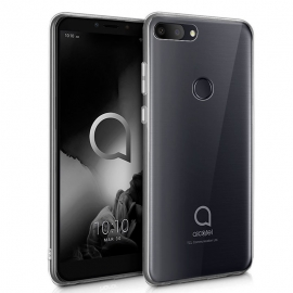 Capa de Gel Transparente Ultra Slim Para Alcatel 1S 2019