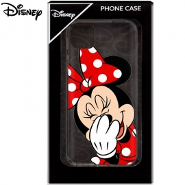 Capa em Silicone Transparente Official Disney Minnie para iPhone 11 Pro Max