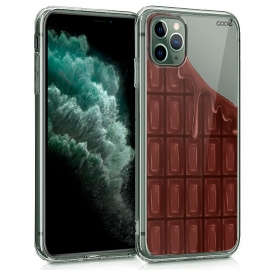 Capa Gel Transparente Com Chocolate Para iPhone 11 Pro Max