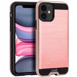 Capa Rígida Anti Choque Para iPhone 11 - Rosa