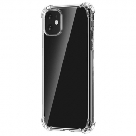 Capa Anti Choque 0,5mm Em Gel Transparente Para iPhone 11 - Transparente