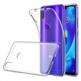 Capa Anti Choque Ultra Fina Em Gel Transparente Para Xiaomi Mi Play - Transparente