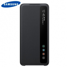 Bolsa Original Smart Clear Samsung Galaxy S20 Plus (Com Blister) - Preto - Preto