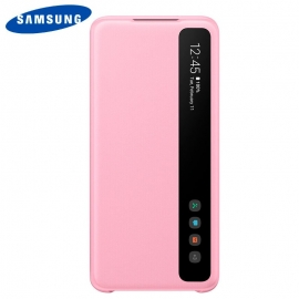 Bolsa Original Smart Clear Samsung Galaxy S20 Plus (Com Blister) - Rosa - Rosa