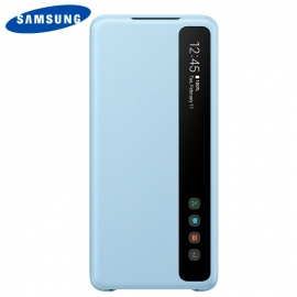 Bolsa Original Smart Clear Samsung Galaxy S20 Plus (Com Blister) - Azul - Azul