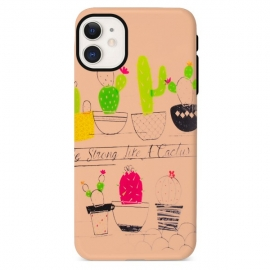 Capa de Gel Like a Cactus Para Apple iPhone 12