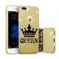 "Capa Gel Blink ""Queen"" Para Samsung Galaxy A5 2016"